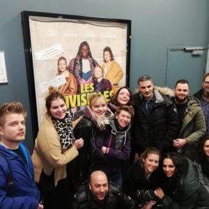 CMAO Lille intervention des équipes dans un cinéma